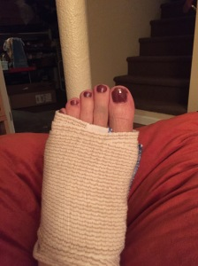 Toes are still bruised, but dang if that new color isn't nice!